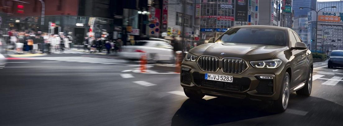 BMW X6. Un chasis que apuesta por el dinamismo seguro