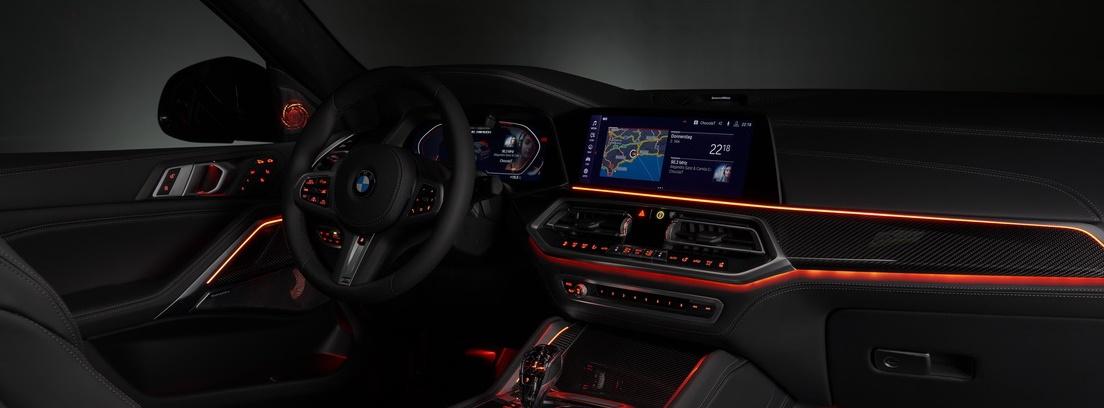 BMW X6. Interior sibarita: el coche que te habla