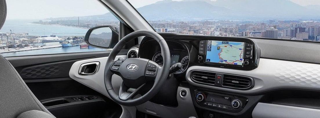 Interior del Hyundai i10 2020