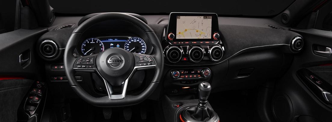 Nissan Juke. Transformación interior