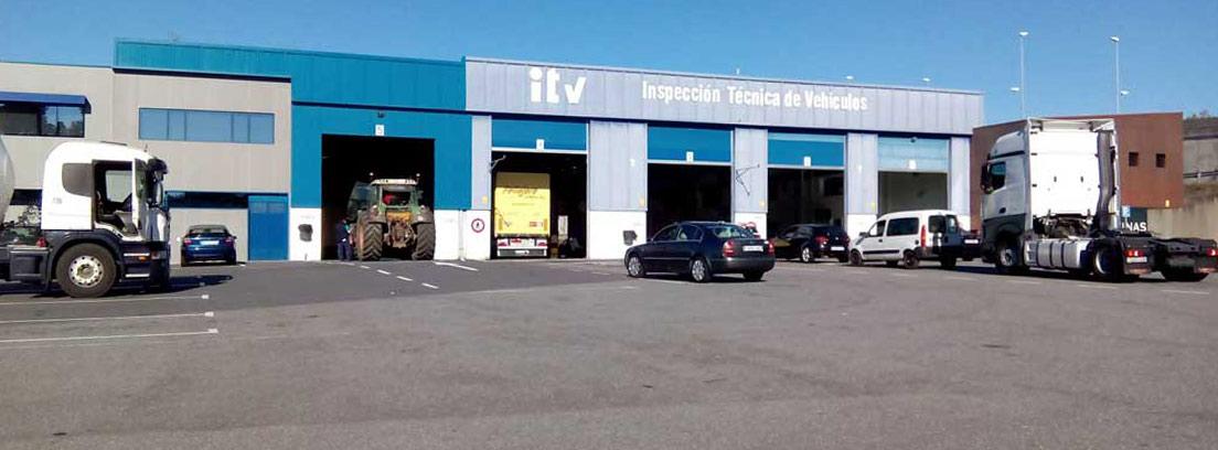 Estación de ITV de Espíritu Santo, Cambre (Galicia)