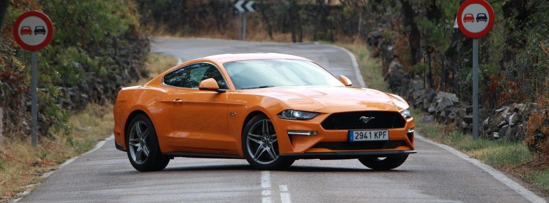 Prueba del Ford Mustang 5.0 GT Fastback