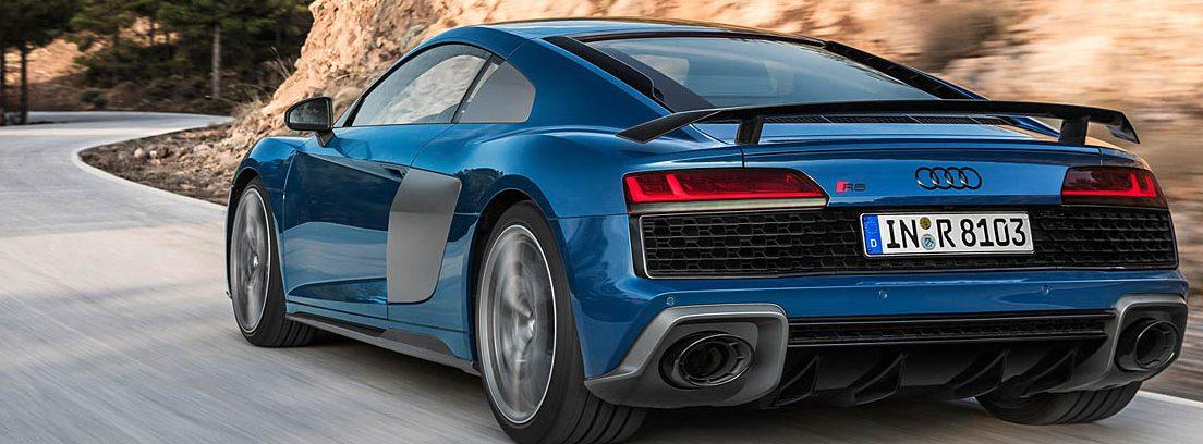 Audi R8. Dos potencias aún mayores
