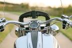 Manillar de una moto