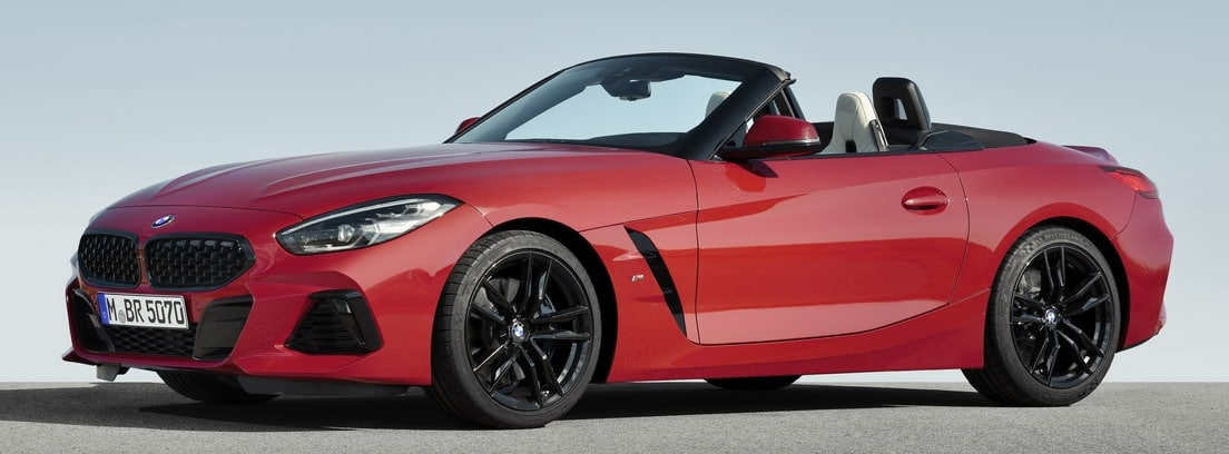 Lateral del BMW Z4 readster