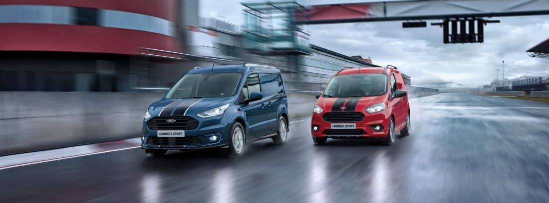 2 modelos de Ford Transit Sport