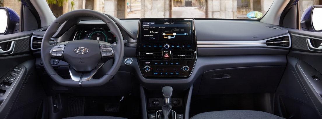 Interior del Hyundai Ioniq restyling