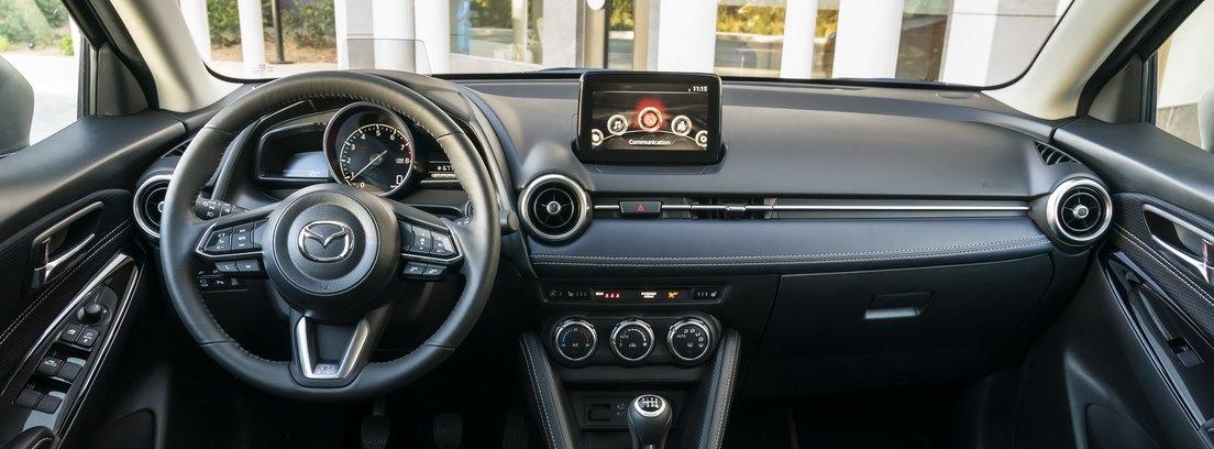 Interior del Mazda 2