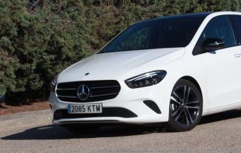 Probamos el Mercedes Clase B 200 D