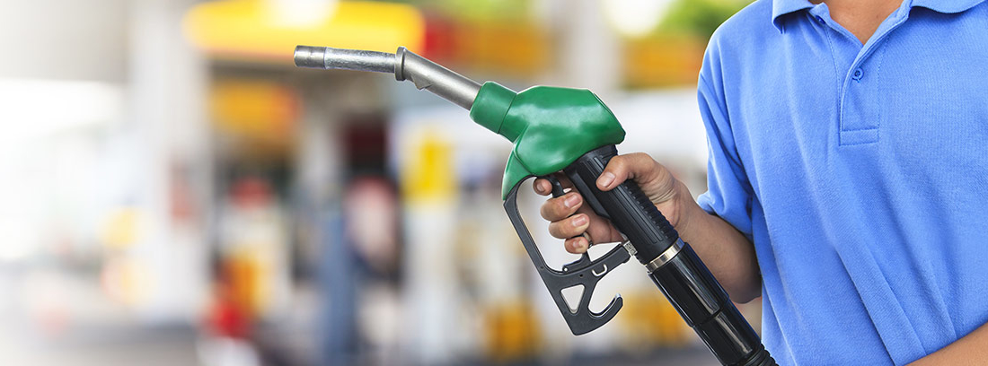 Imagen de surtidor de gasolina