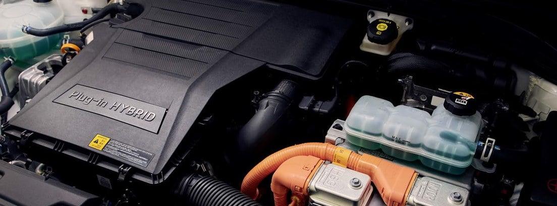 Detalle del motor y sistema del nuevo Hyundai IONIQ 1.6 GDI PHEV