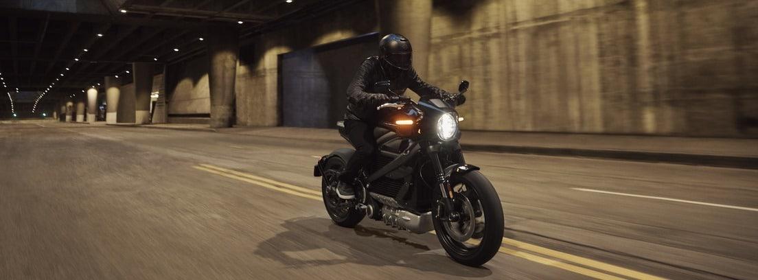 Harley-Davidson Livewire Electric en carretera