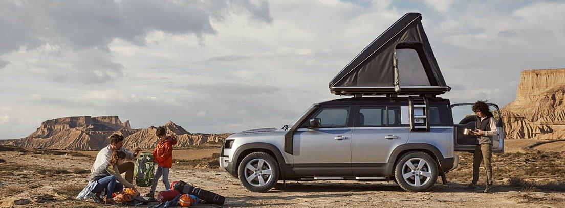 Niveles de personalización del Land Rover Defender 2020