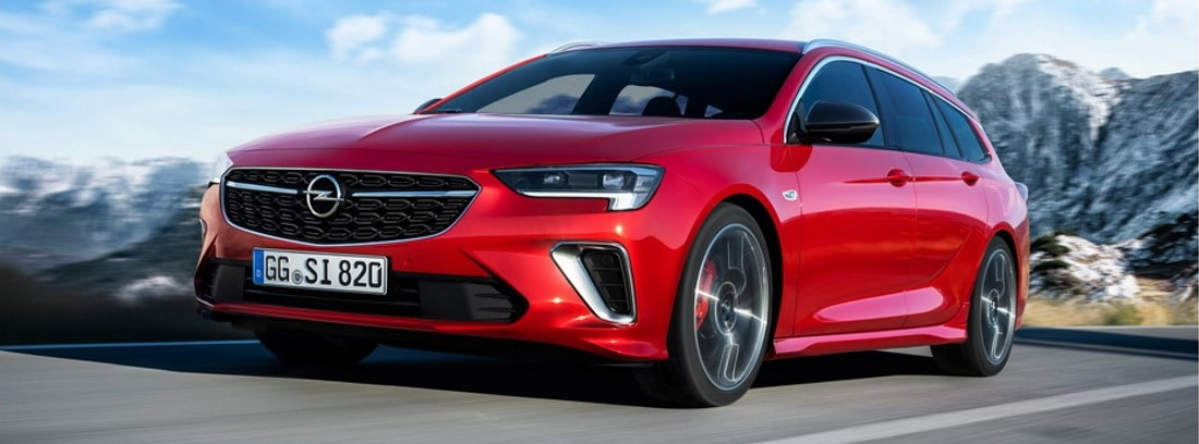 Así es el Opel Insignia GSI 2020