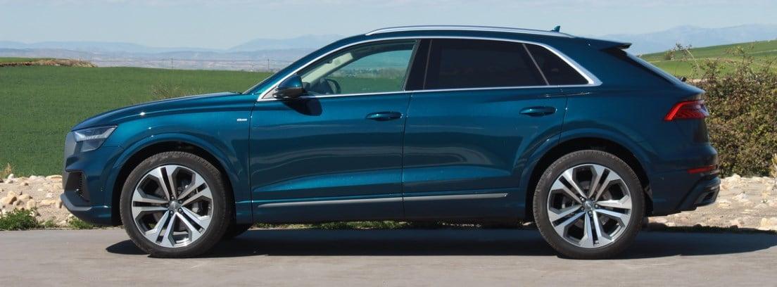 Tamaño impresionante y aspecto deportivo, Audi Q8