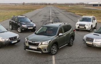 Familia Subaru Forester