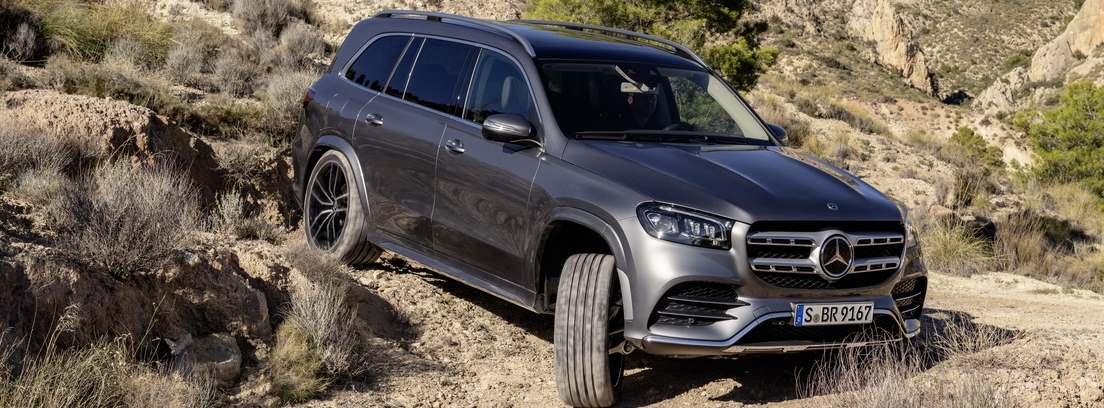 Mercedes-Benz GLS en montaña