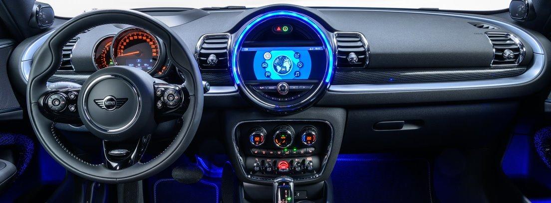 Detalle del interior del nuevo Mini Clubman