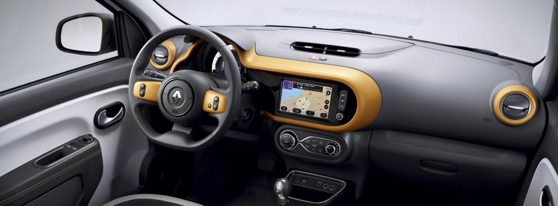 Interior del Renault Twingo Eléctrico