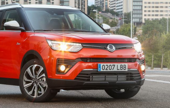Restyling del modelo SsangYong Tivoli