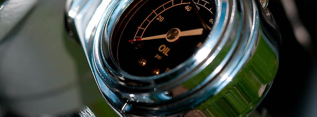 Medidor de temperatura del aceite