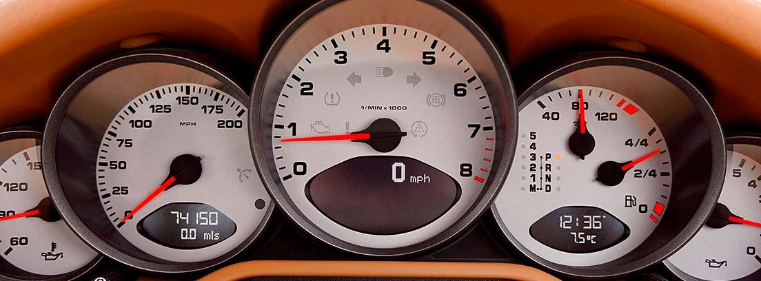 Manómetros de la temperatura del aceite y otros apartados