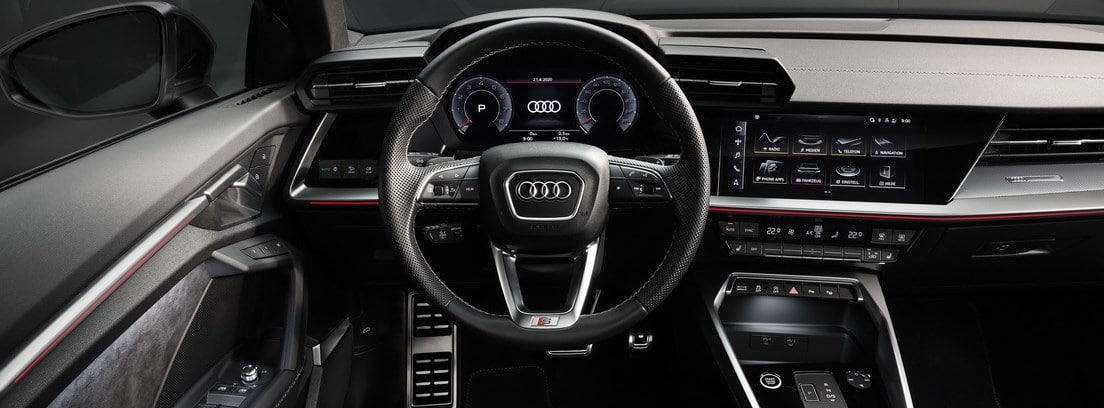 Audi A3 Sedán. Interior