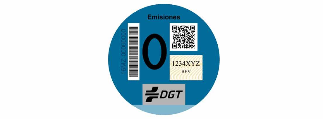 Distintivo Cero Emisiones de la DGT