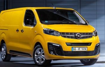 Opel Vivaro electrica amarilla