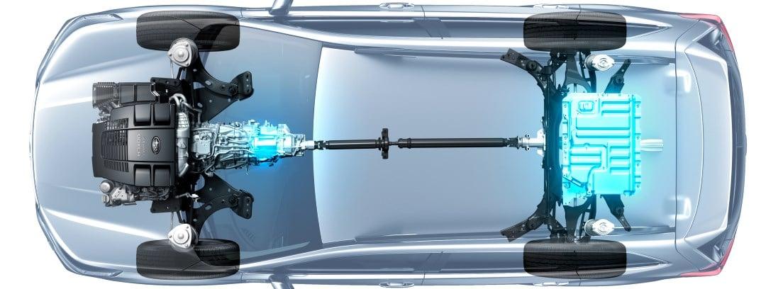 Hibridación Subaru e-Boxer