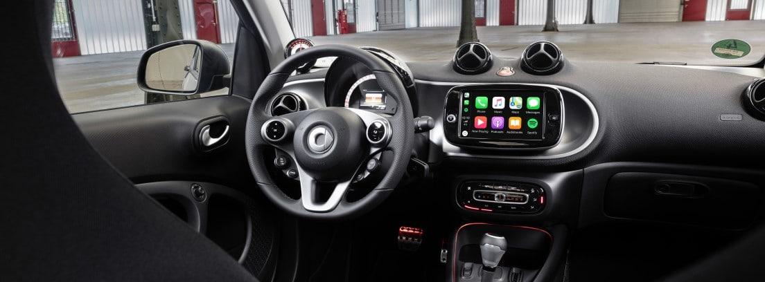 Smart EQ interior