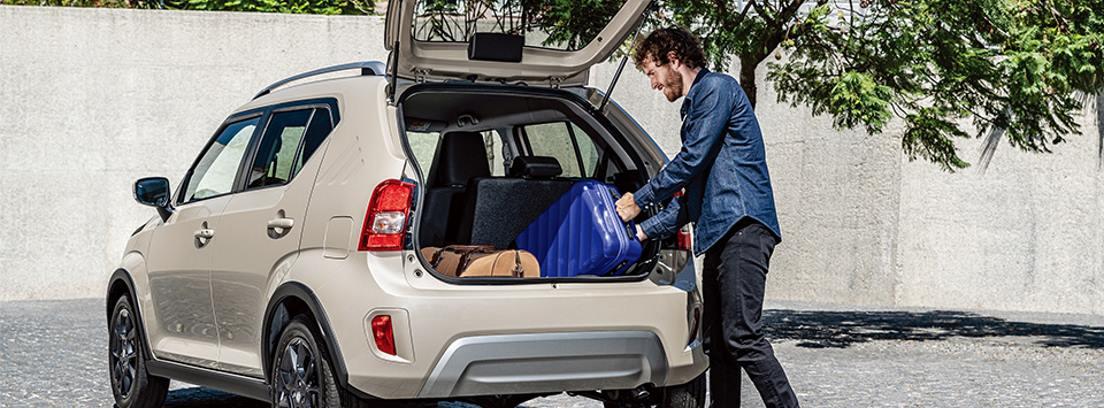 Suzuki Ignis 2020 maletero