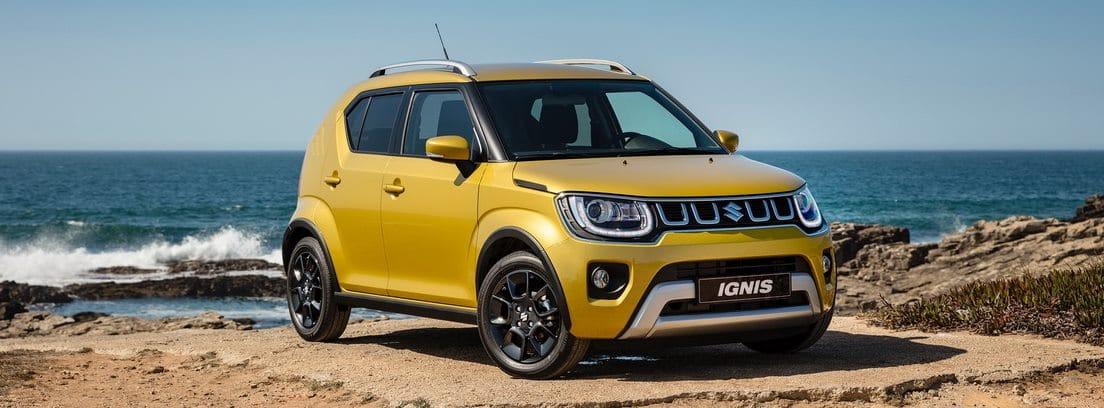 Suzuki Ignis amarillo