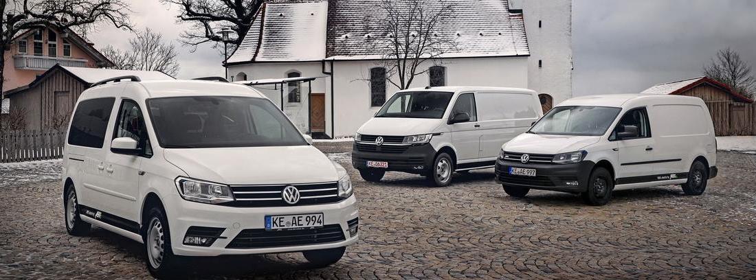 Oferta eléctrica de Volkswagen en sus vehículos comerciales