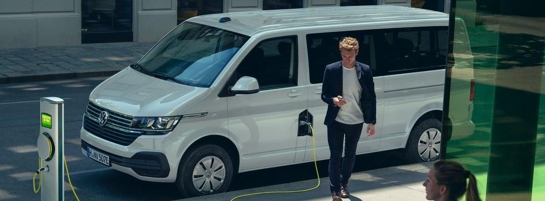 Volkswagen e-Transporter en carga