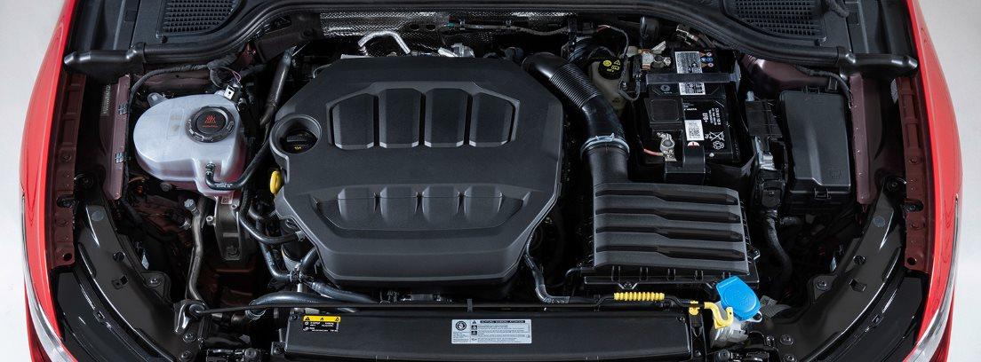 Motor del volkswagen-golf-gti de 2020