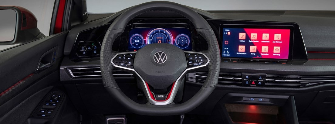 Interior del nuevo Golf GTI 2020