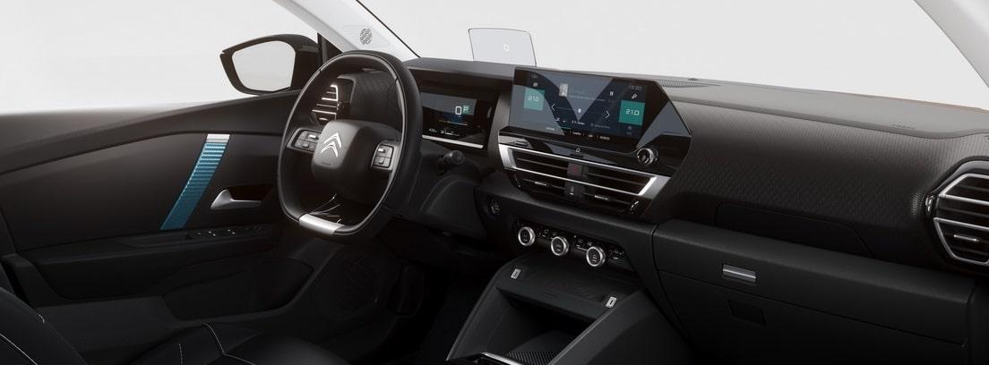 interior del Citroen C4