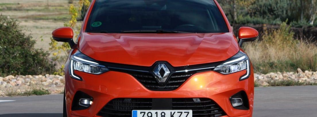 Renault Clio de frente