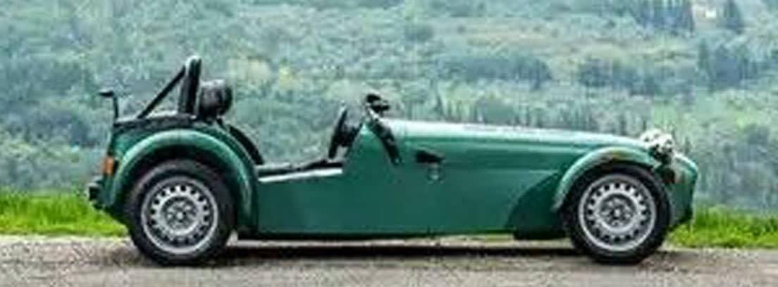 Caterham Seven 165 en verde