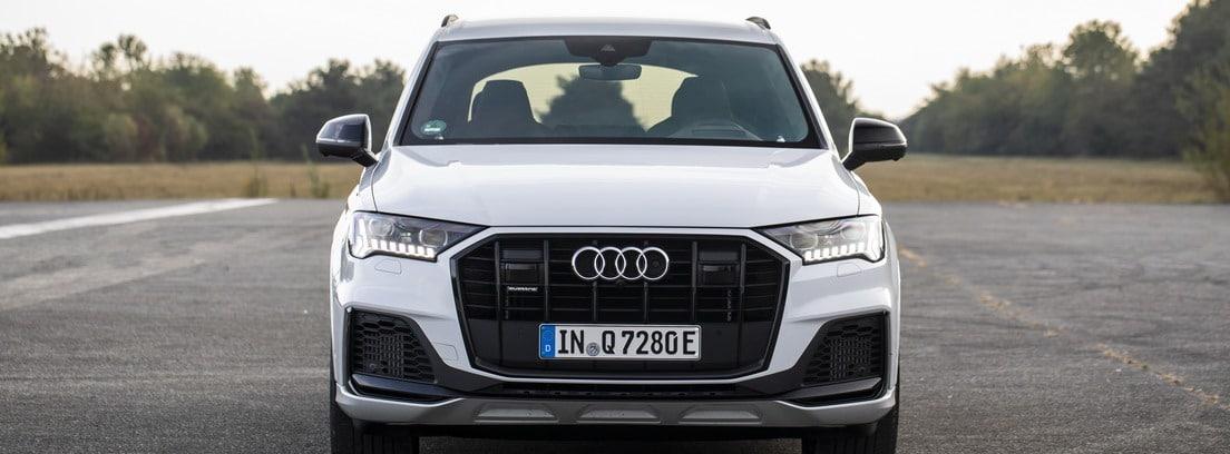 volante e interior Audi Q7