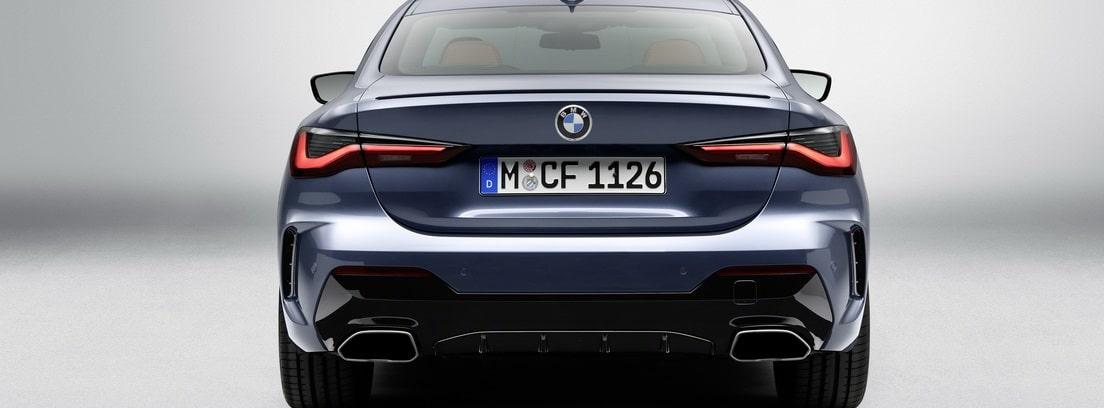 Fotografía de catálogo de la parte trasera externa del BMW Serie 4 Coupé