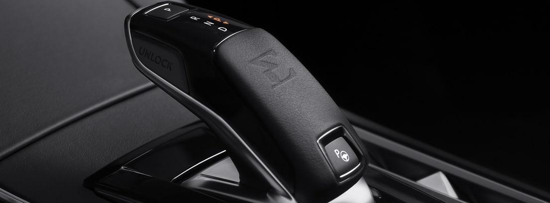 Interior DS 7 Crossback E-Tense 225: caja de cambios