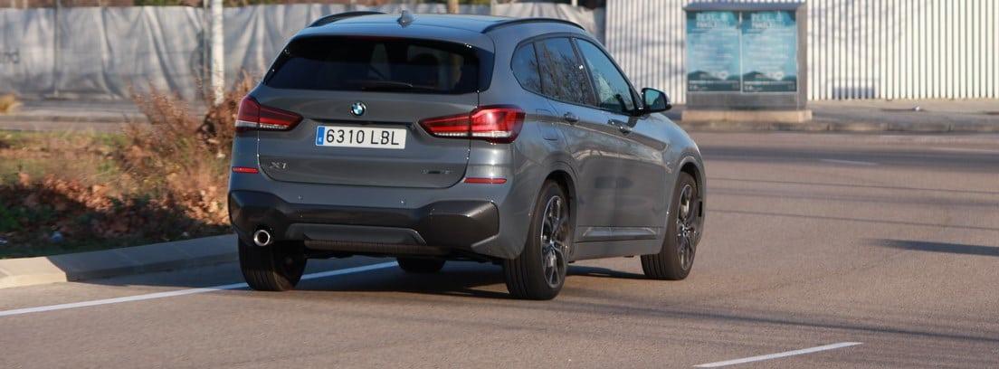 vista trasera del BMW X1 SDrive18i M Sport