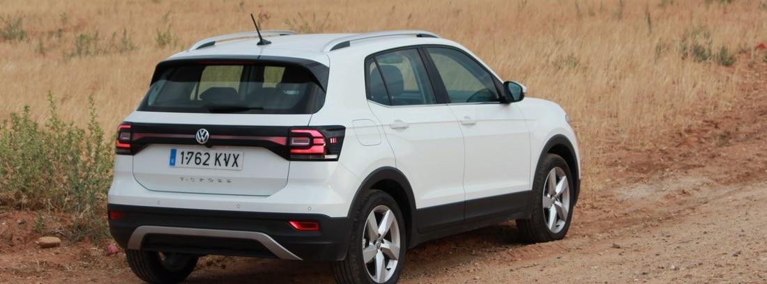 Volkswagen T-Cross 1,0 TSI de 115 CV de color blanco