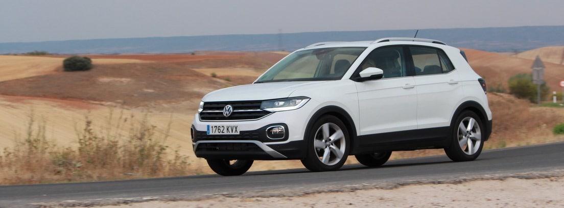 Volkswagen T-Cross 1,0 TSI de 115 CV en carretera