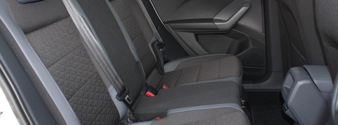 Interior del Volkswagen T-Cross 1,0 TSI de 115 CV