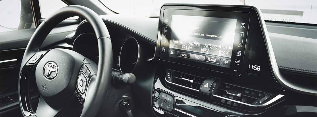 Interior de un Toyota