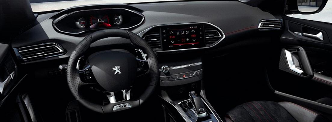 Interior del Peugeot 308