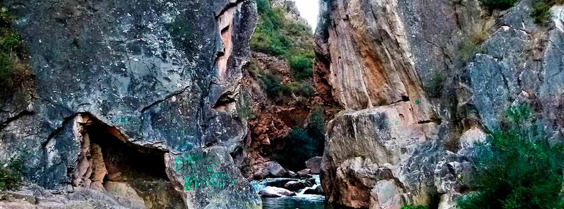 Tramo de la ruta del agua de Chelva, Valencia